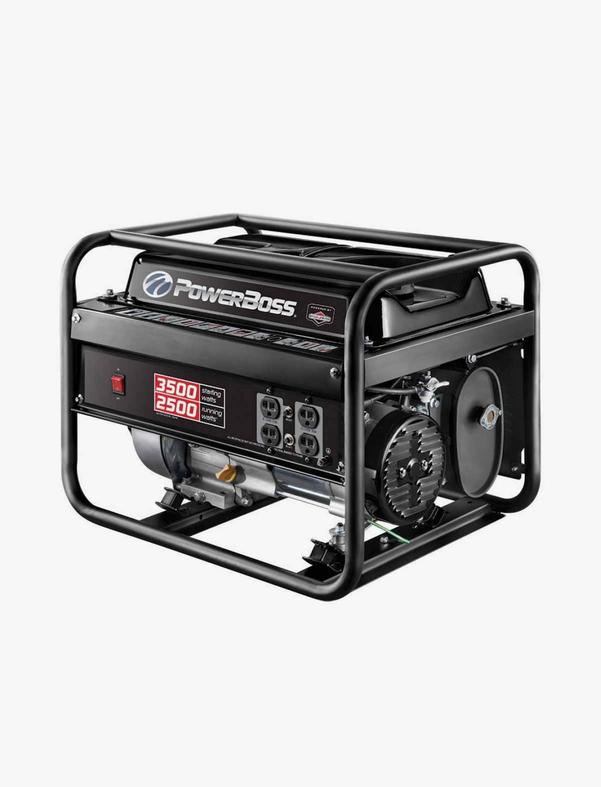 Powerboss 3500 Watts Gasoline Portable Generator Live Wire To House On How Connect Wiring